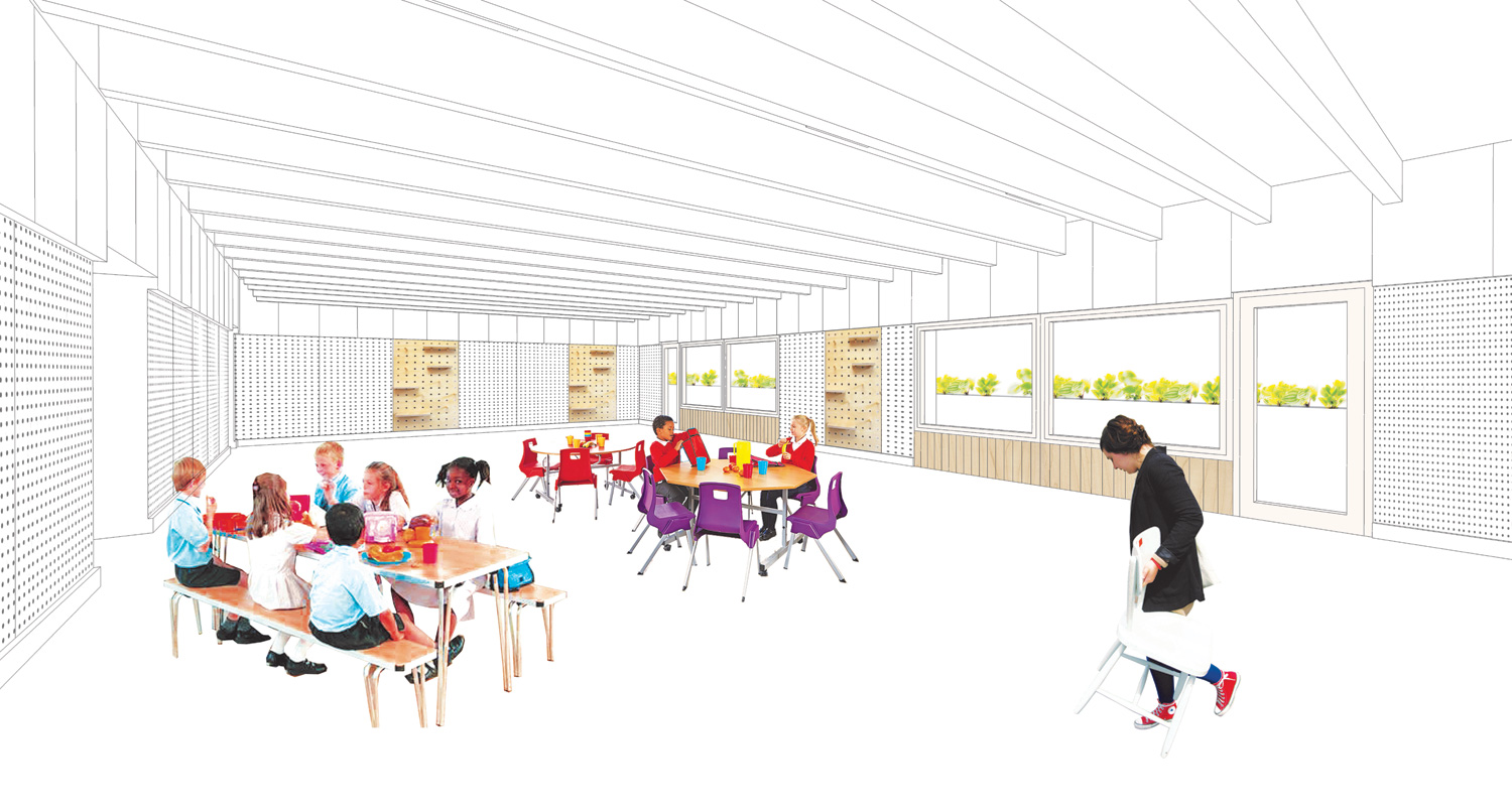 Spaces for Eating, James Gillespies Primary School - Calum